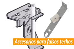 Precio de accesorios para falsos techos en Sevilla
