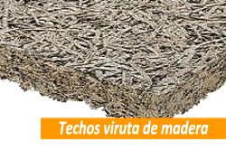 Precio de falsos techos de viruta de madera en Sevilla