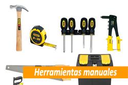 Precio de herramientas manuales en Sevilla