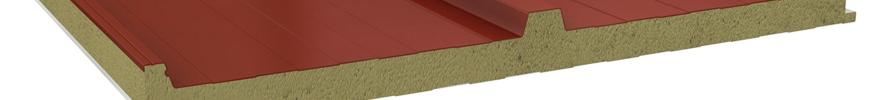 Paneles sandwich de lana de roca con propiedades acústicas