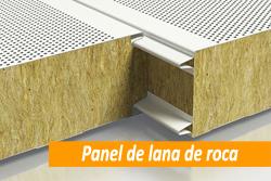 Precio de panel sandwich de lana de roca en Sevilla