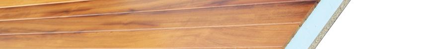 Paneles sandwich de madera para buhardillas de viviendas