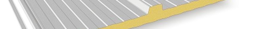 Paneles sandwich de poliuretano de cubiertas y fachadas