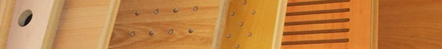 Paneles de madera para revestimientos interiores decorativos