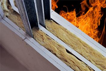Tabiques resistentes al fuego