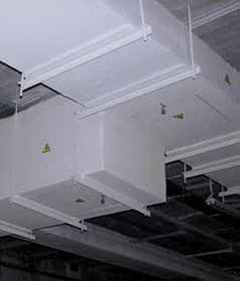 Conductos resistentes al fuego con placas de silicato