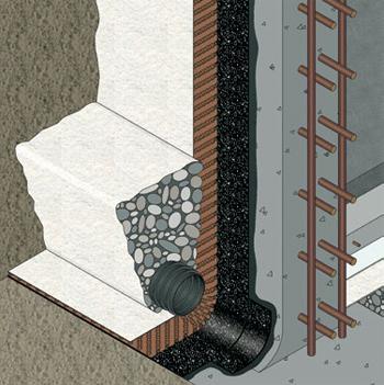 Especialistas en la impermeabilización de estructuras soterradas